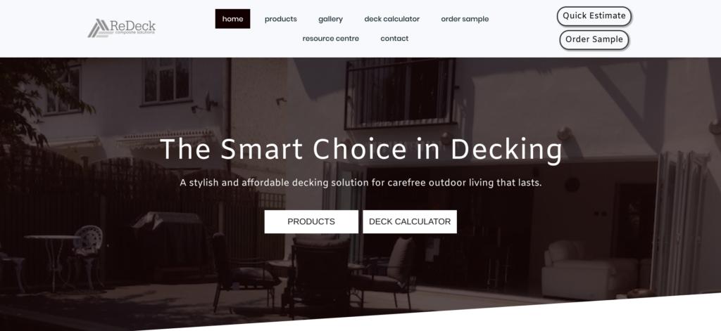 Redeck UK   Glasgow Web Designer Portfolio